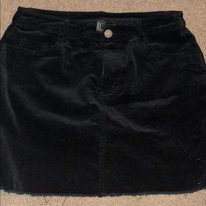 Forever 21 mini skirt size medium